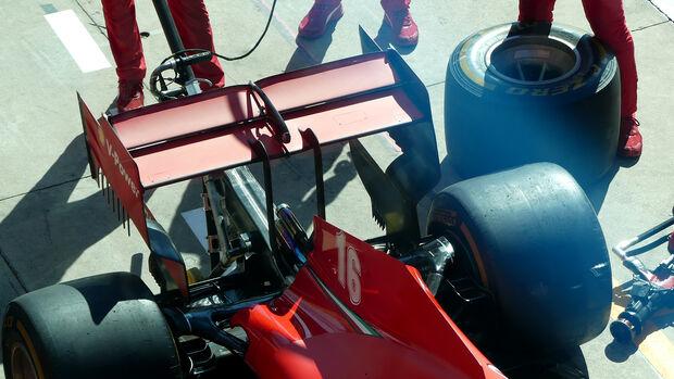 Ferrari - Formel 1 - GP Italien - Monza - Donnerstag - 3. September 2020