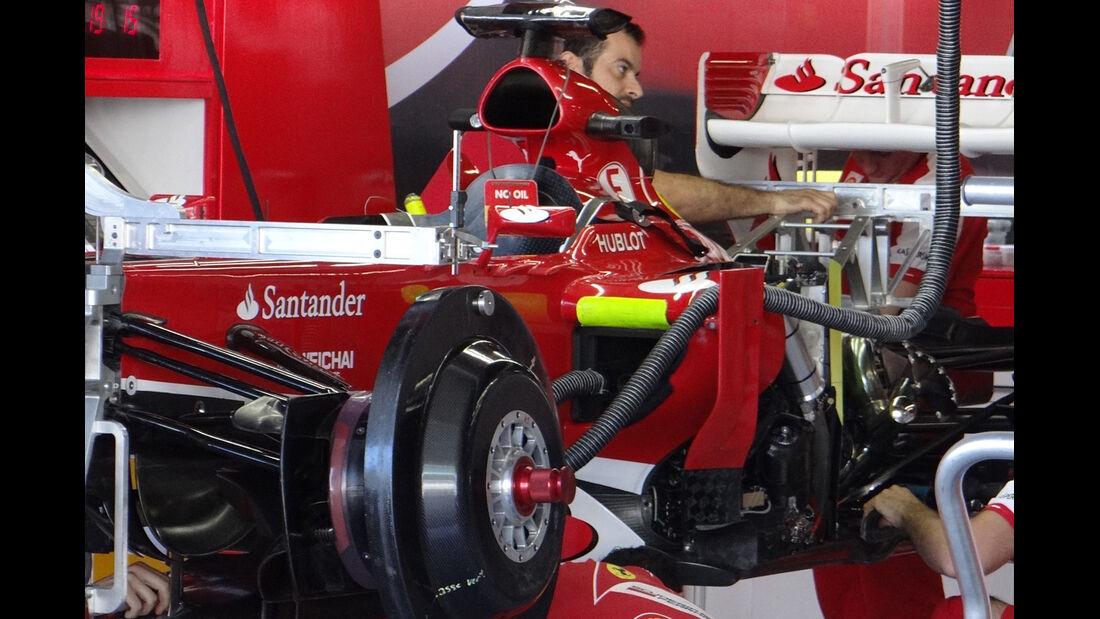 Ferrari - Formel 1 - GP Japan - Suzuka - 10. Oktober 2013