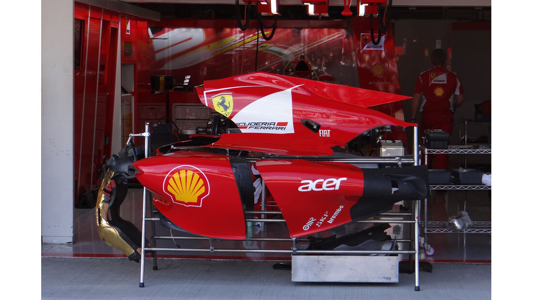 Ferrari - Formel 1 - GP Japan - Suzuka - 4. Oktober 2012