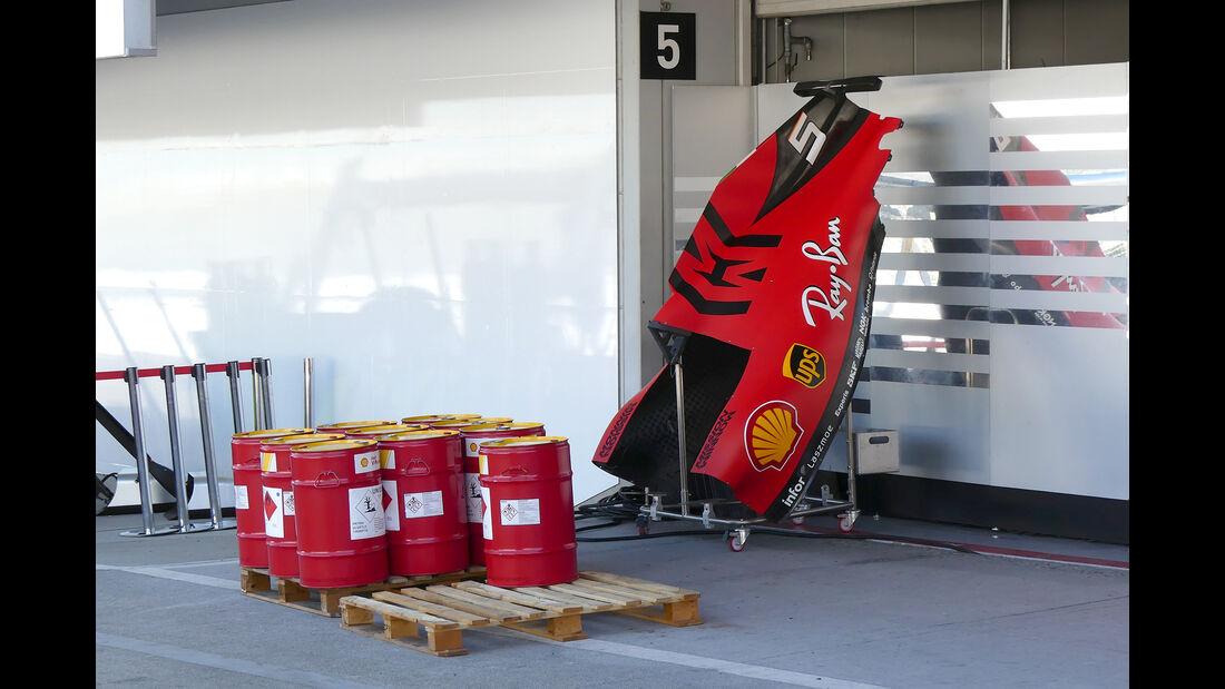 Ferrari - Formel 1 - GP Japan - Suzuka - 9. Oktober 2019