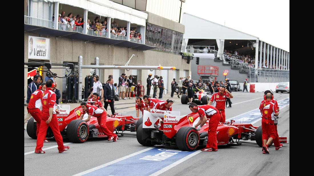 Ferrari - Formel 1 - GP Kanada - 8. Juni 2012