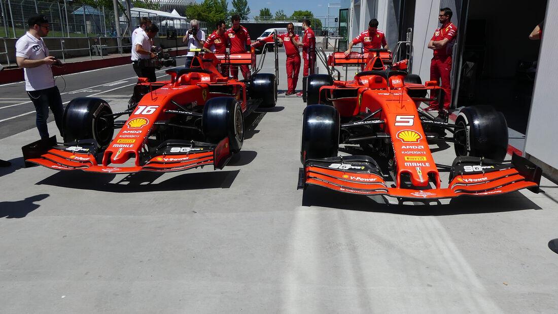 Ferrari - Formel 1 - GP Kanada - Montreal - 6. Juni 2019