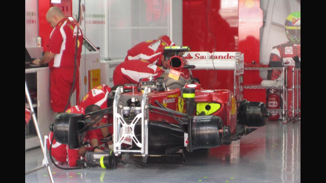 Ferrari - Formel 1 - GP Korea - 13. Oktober 2011