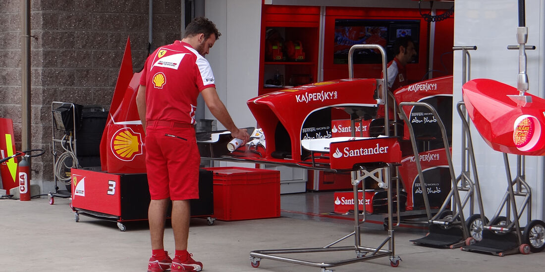 Ferrari - Formel 1 - GP Korea - 5. Oktober 2013