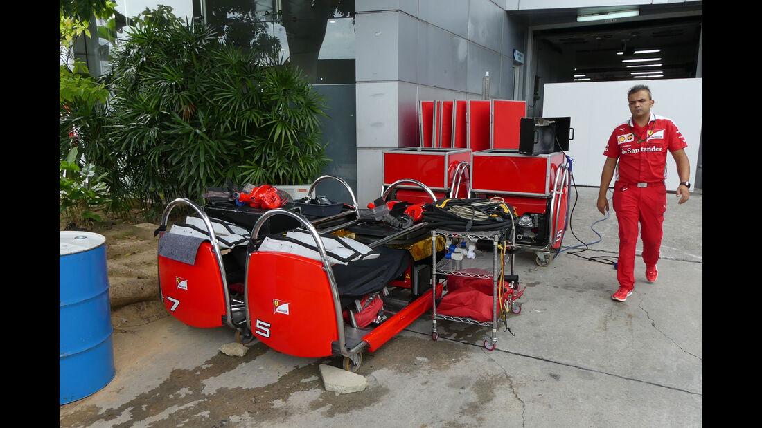 Ferrari - Formel 1 - GP Malaysia - Sepang - Donnerstag - 29.9.2016