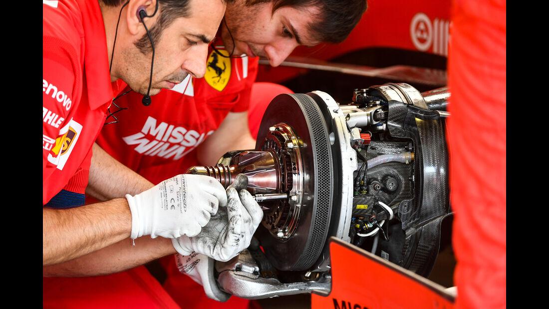Ferrari - Formel 1 - GP Mexiko - 25. Oktober 2019