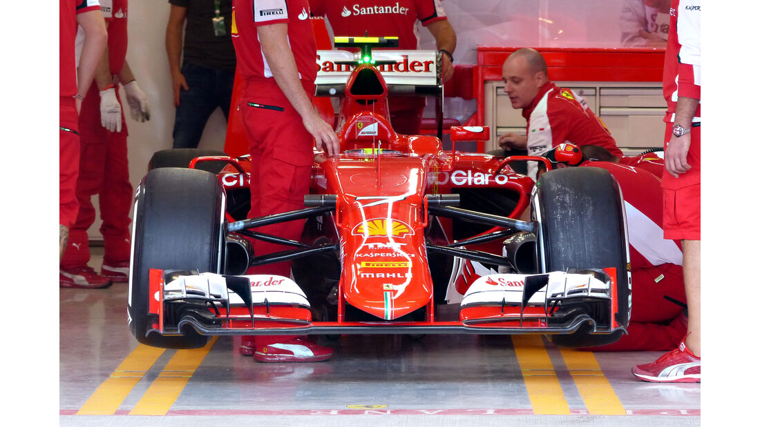 Ferrari - Formel 1 - GP Mexiko - 30. Oktober 2015