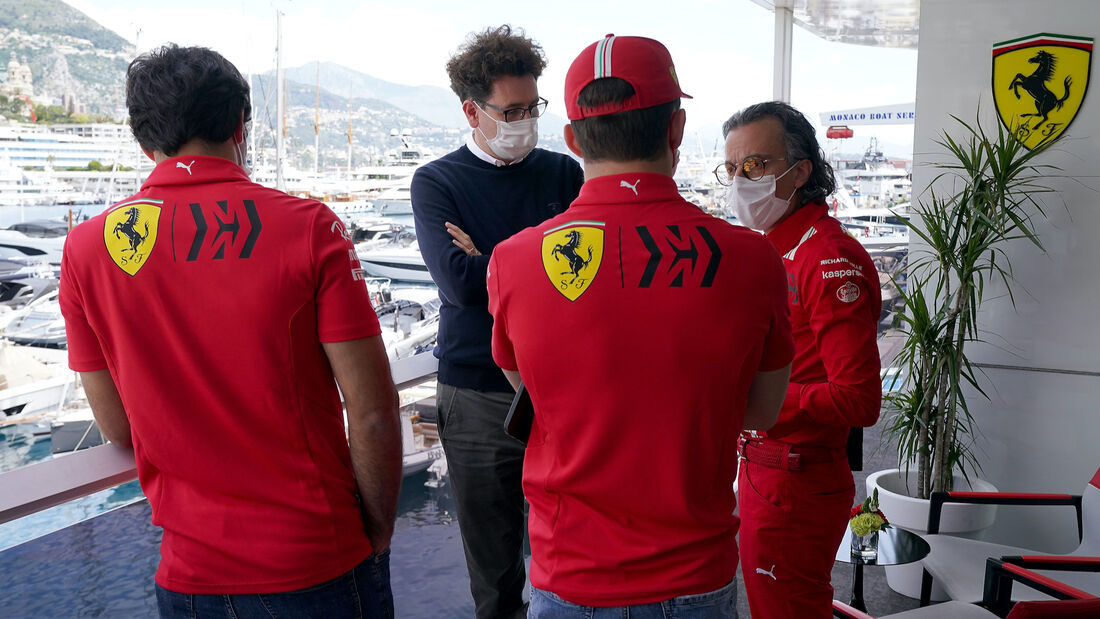 Ferrari - Formel 1 - GP Monaco - 19. Mai 2021