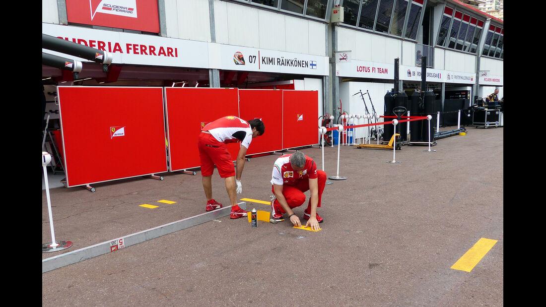 Ferrari - Formel 1 - GP Monaco - 20. Mai 2014
