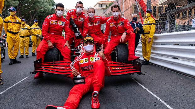 Ferrari - Formel 1 - GP Monaco - 2021