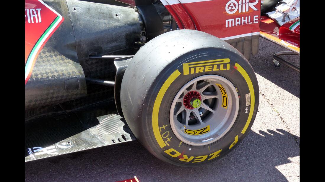 Ferrari - Formel 1 - GP Monaco - 23. Mai 2014