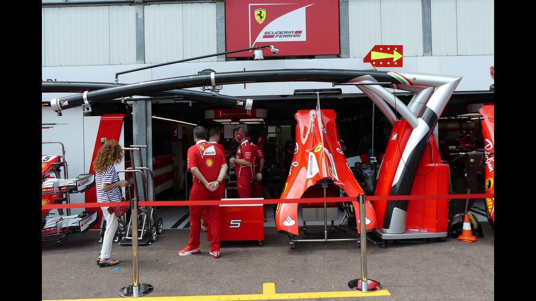 Ferrari - Formel 1 - GP Monaco - 26. Mai 2017