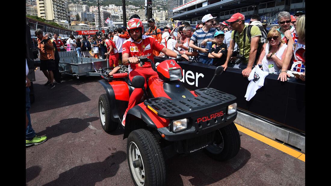 Ferrari - Formel 1 - GP Monaco - 27. Mai 2016