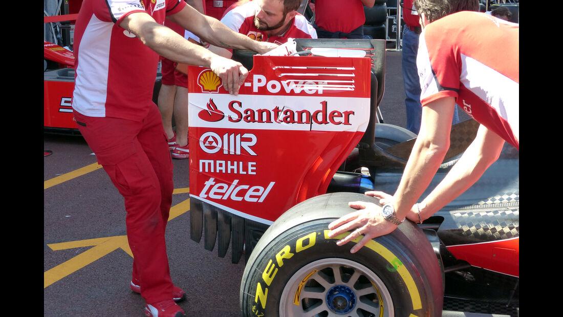 Ferrari  - Formel 1 - GP Monaco - Mittwoch - 20. Mai 2015