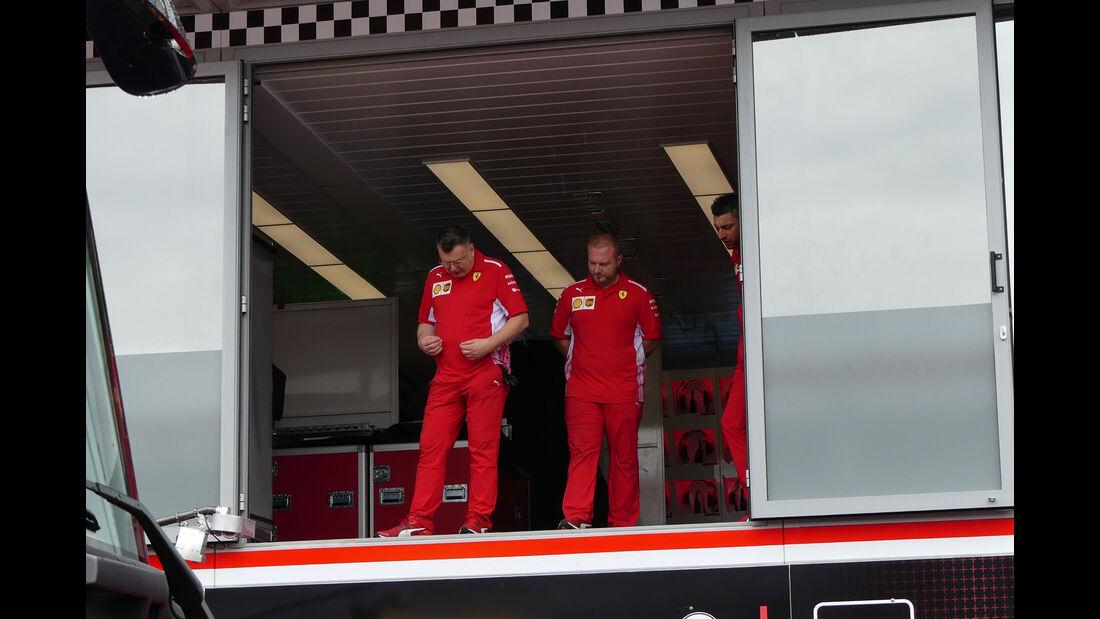 Ferrari - Formel 1 - GP Monaco - Mittwoch - 22.5.2018