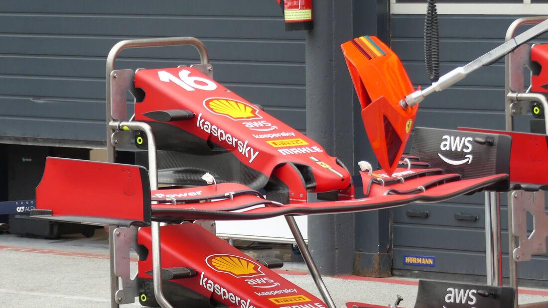 Ferrari - Formel 1 - GP Niederlande - Zandvoort - 2. September 2021