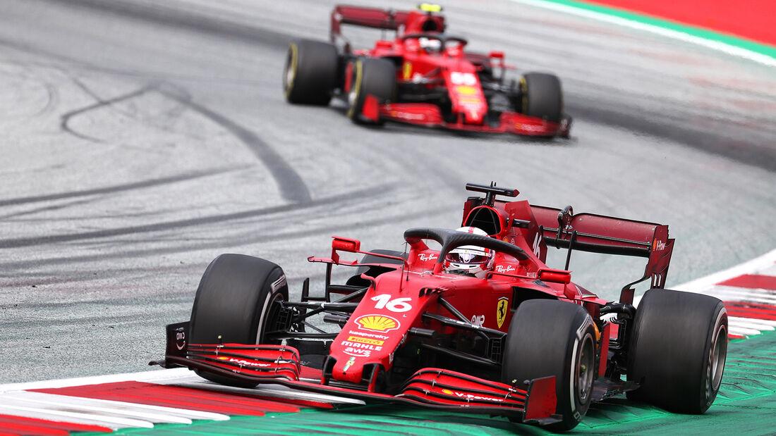 Ferrari - Formel 1 - GP Österreich 2021
