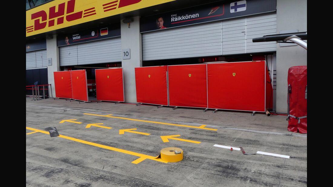 Ferrari - Formel 1 - GP Österreich - 27. Juni 2018
