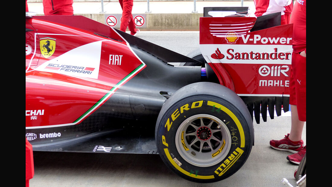 Ferrari - Formel 1 - GP Österreich - Spielberg - 20. Juni 2014