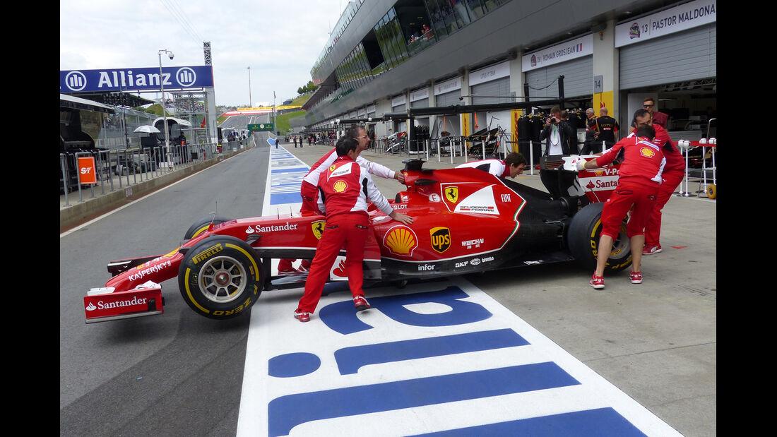 Ferrari - Formel 1 - GP Österreich - Spielberg - 21. Juni 2014