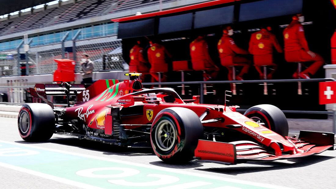 Ferrari - Formel 1 - GP Portugal 2021