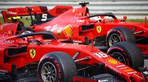 Ferrari - Formel 1 - GP Russland 2019