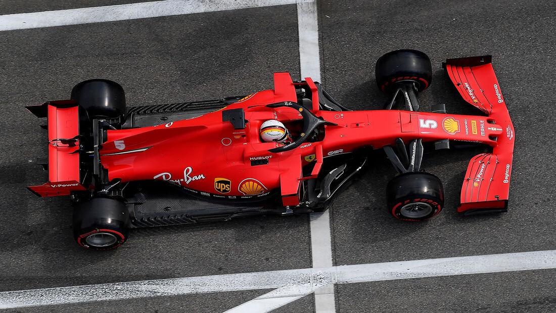 Ferrari - Formel 1 - GP Russland 2020