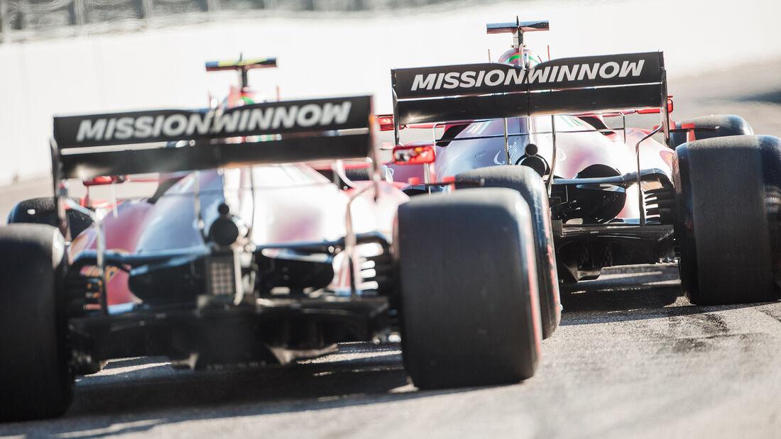 Ferrari - Formel 1 - GP Russland 2021