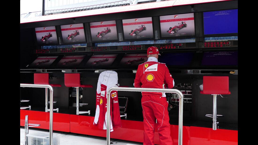 Ferrari  - Formel 1 - GP Russland - 27. April 2016