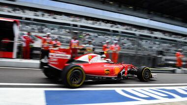 Ferrari - Formel 1 - GP Russland - 29. April 2016