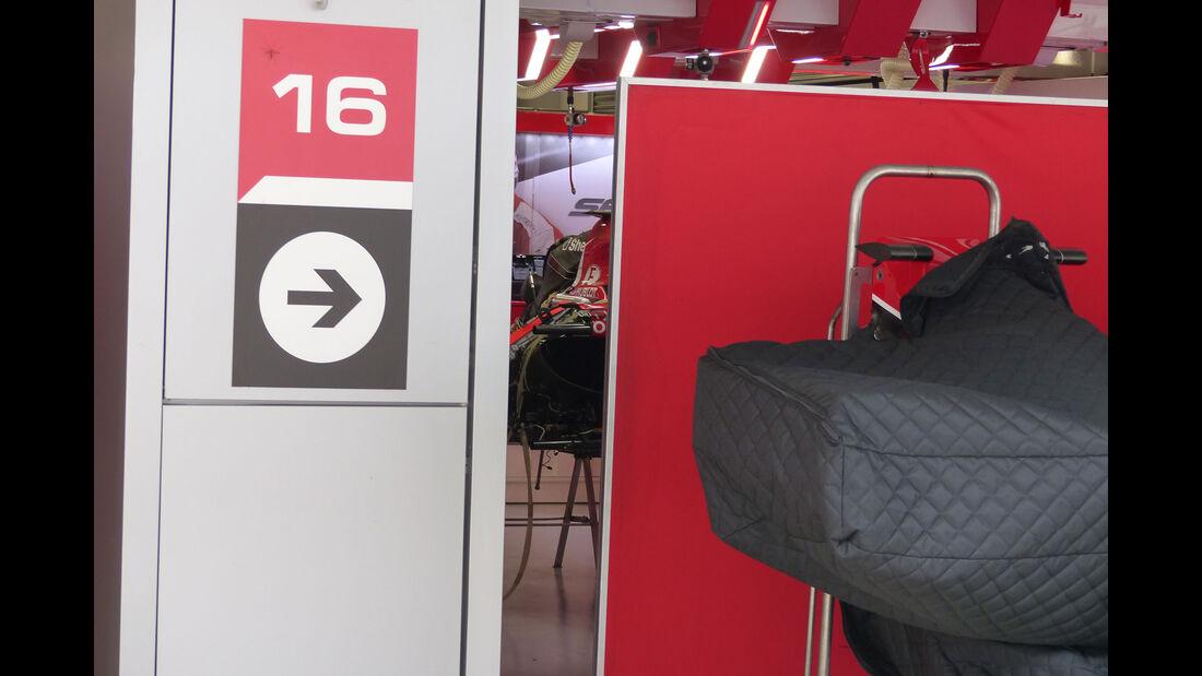 Ferrari - Formel 1 - GP Russland - Sochi - Mittwoch - 7.10.2015