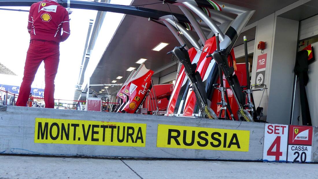 Ferrari - Formel 1 - GP Russland - Sotschi - 26. April 2017