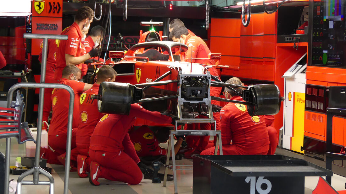 Ferrari - Formel 1 - GP Russland - Sotschi - Donnerstag - 23.09.2021