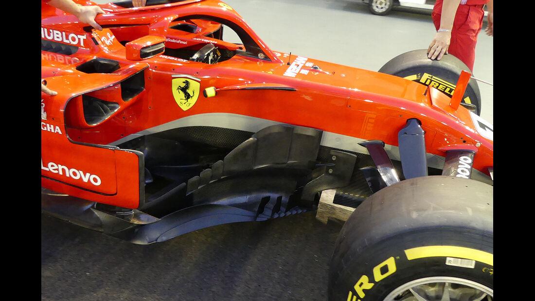 Ferrari - Formel 1 - GP Singapur - 13. September 2018
