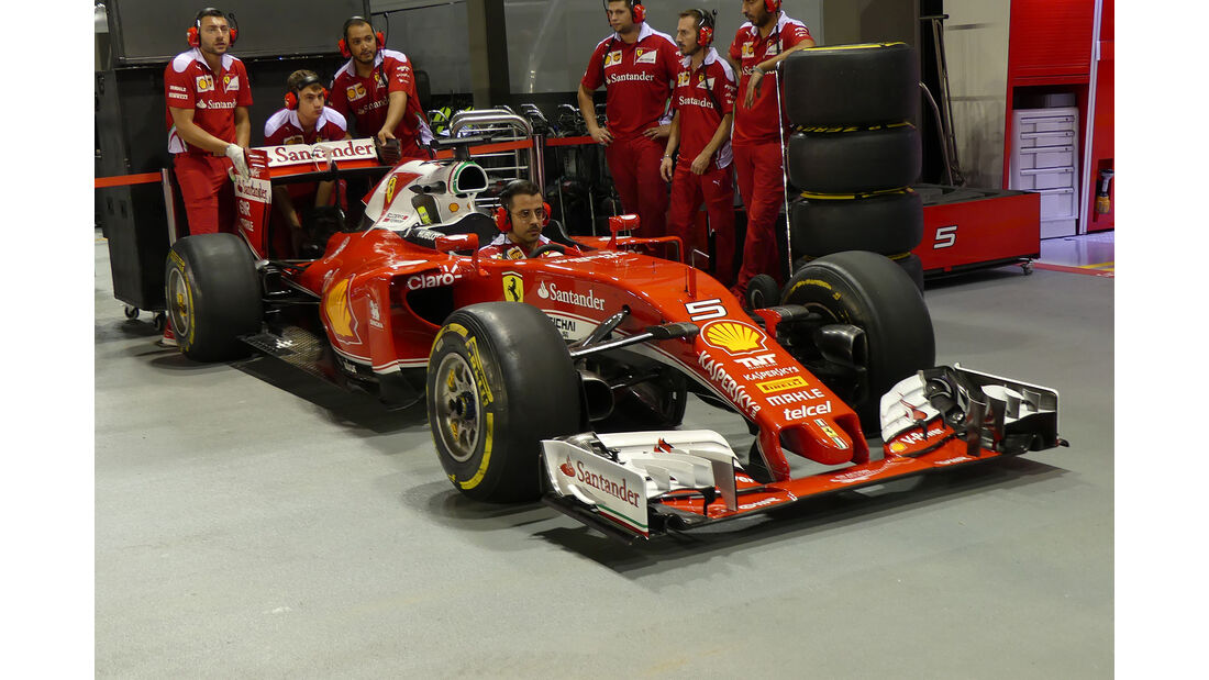 Ferrari - Formel 1 - GP Singapur - 15. September 2016