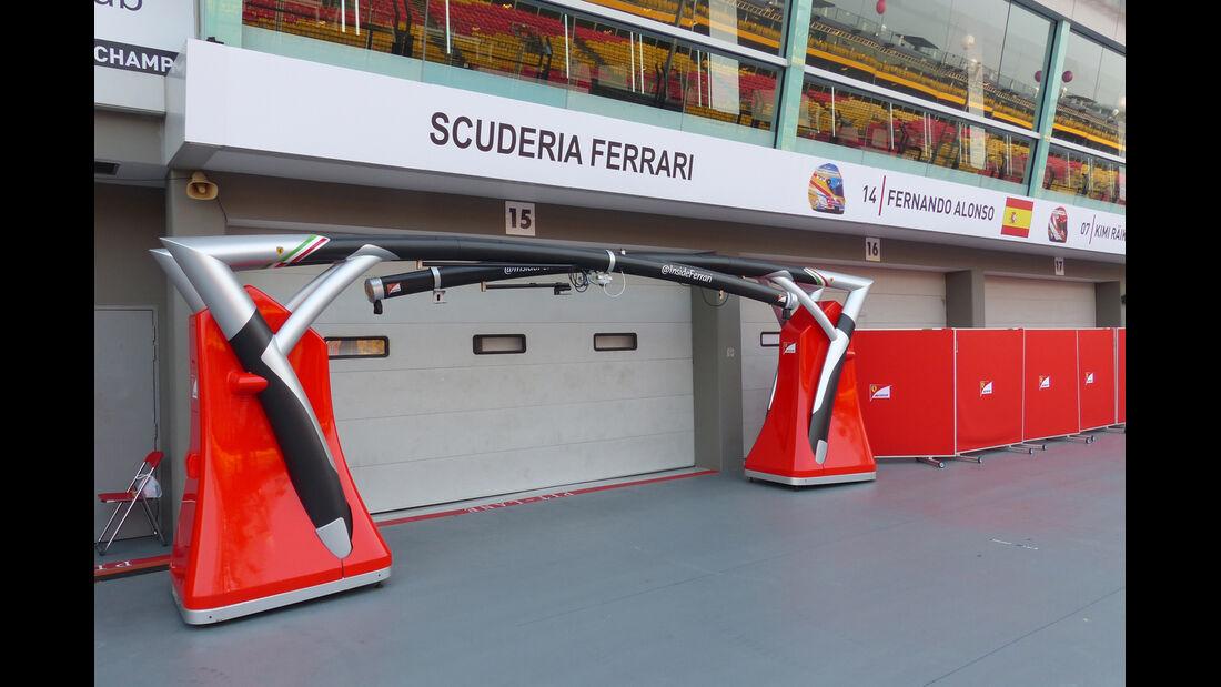 Ferrari - Formel 1 - GP Singapur - 17. September 2014