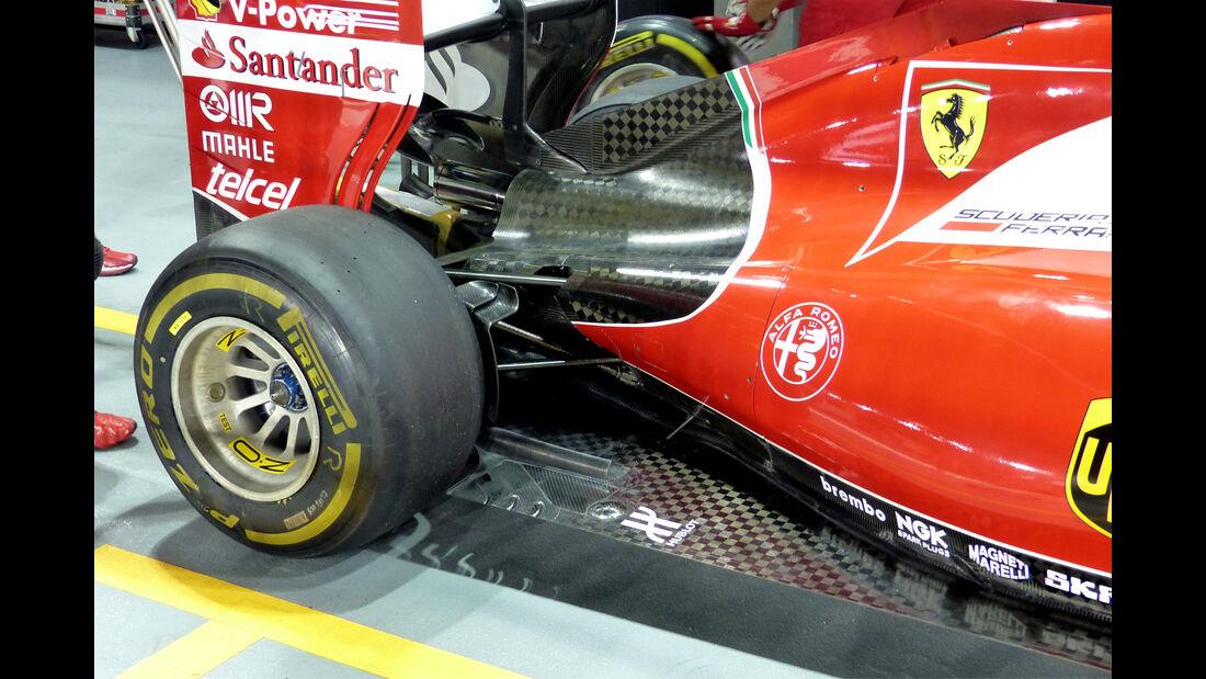 Ferrari - Formel 1 - GP Singapur - 17. September 2015