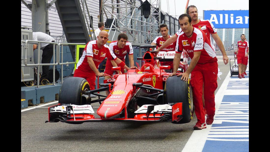 Ferrari - Formel 1 - GP Singapur - 18. September 2015