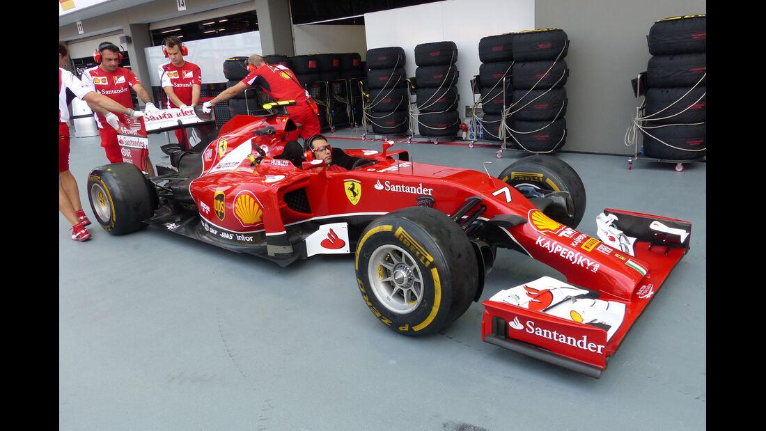 Ferrari - Formel 1 - GP Singapur - 19. September 2014
