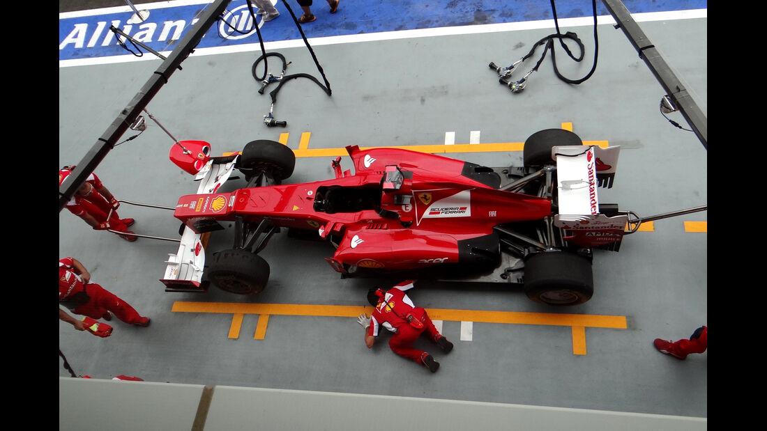 Ferrari - Formel 1 - GP Singapur - 21. September 2012