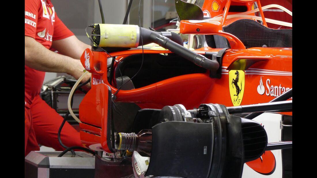 Ferrari - Formel 1 - GP Spanien - 11. Mai 2017