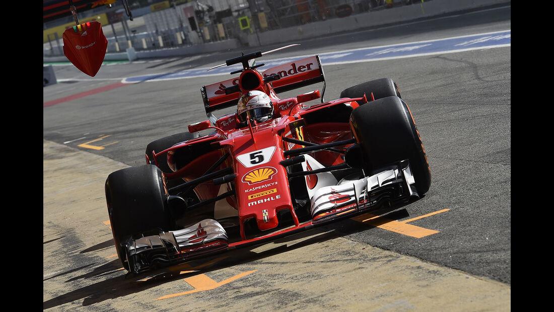 Ferrari - Formel 1 - GP Spanien 2017