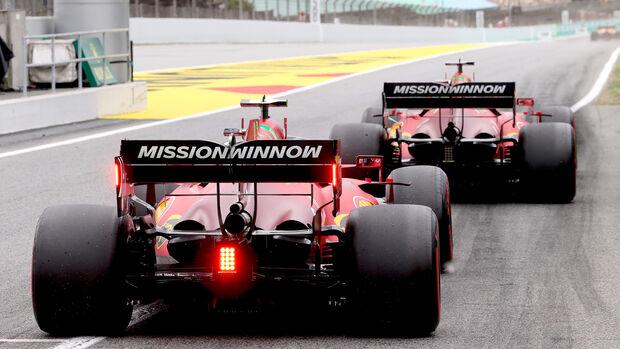 Ferrari - Formel 1 - GP Spanien 2021