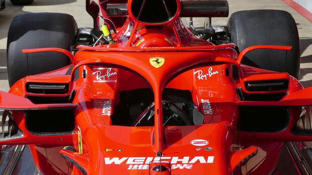 Ferrari - Formel 1 - GP Spanien - Barcelona - 11. Mai 2018