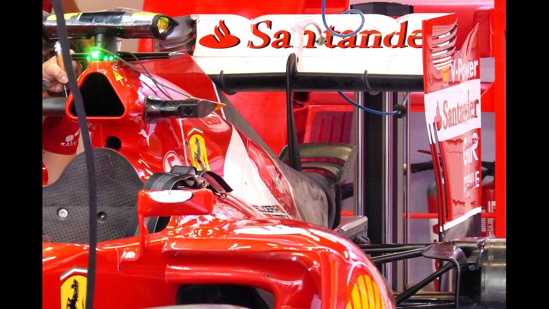 Ferrari - Formel 1 - GP Spanien - Barcelona - 8. Mai 2014