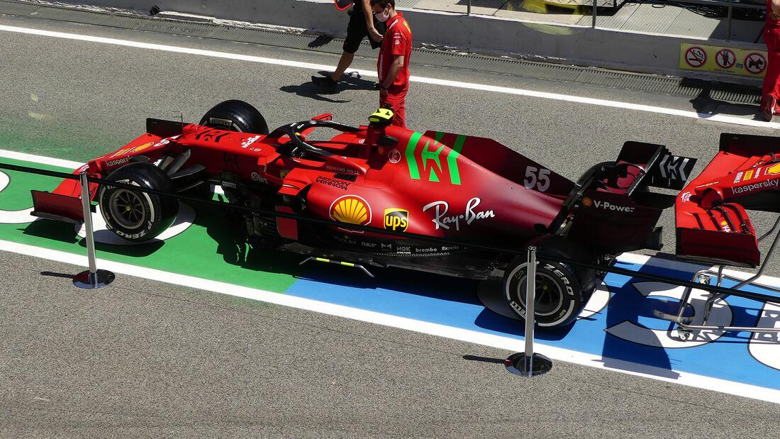 Ferrari - Formel 1 - GP Spanien - Donnerstag - 6.5.2021