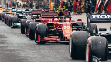 Ferrari - Formel 1 - GP Türkei 2021