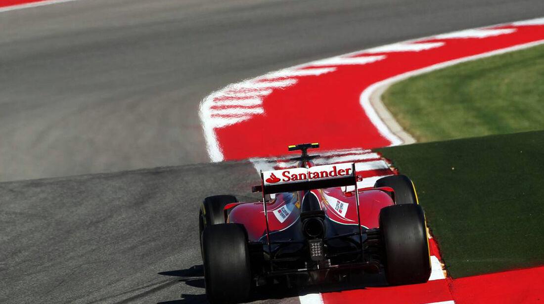 Ferrari - Formel 1 - GP USA - 1. November 2014
