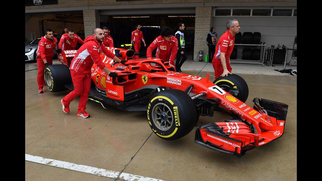 Ferrari - Formel 1 - GP USA - 19. Oktober 2018