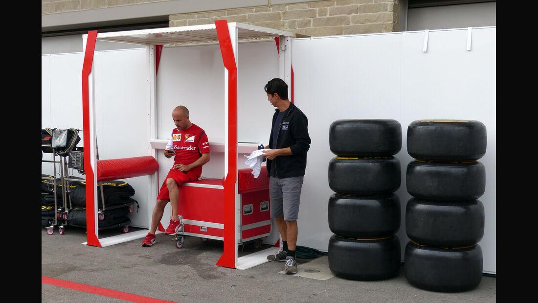 Ferrari - Formel 1 - GP USA - 29. Oktober 2014